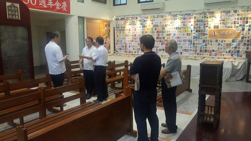 大林堂阮神父及越南參訪神父