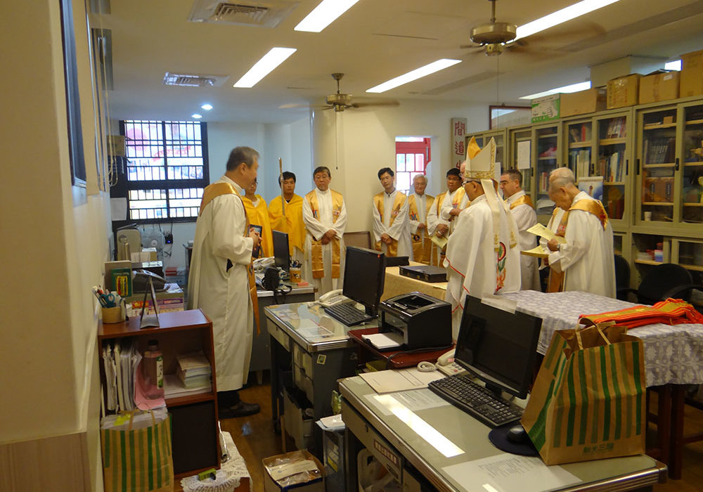 50週社慶與會共融之神父們