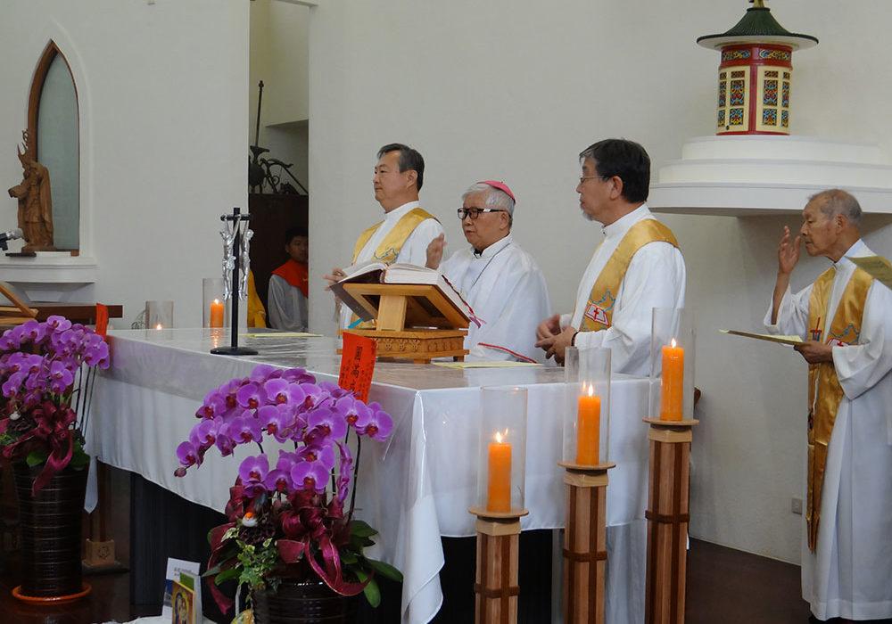 台南主教參與感恩祭