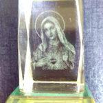 聖母聖心水晶