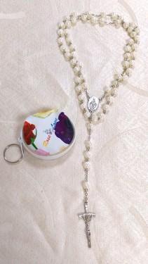 8厘米混色玫瑰念珠
