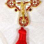 合金十字苦像吊飾