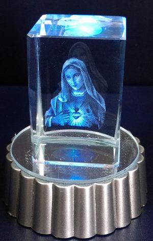 聖母聖心水晶燈